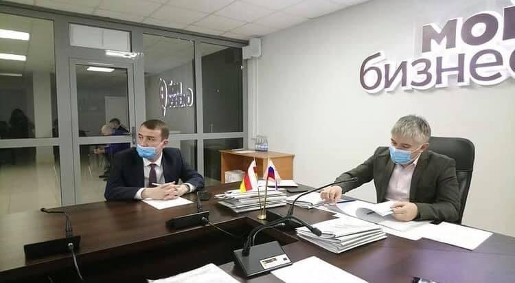 Состоялось очередное заседание комиссии по предоставлению грантов Министерства экономического развития РСО-Алания начинающим предпринимателям и самозанятым.