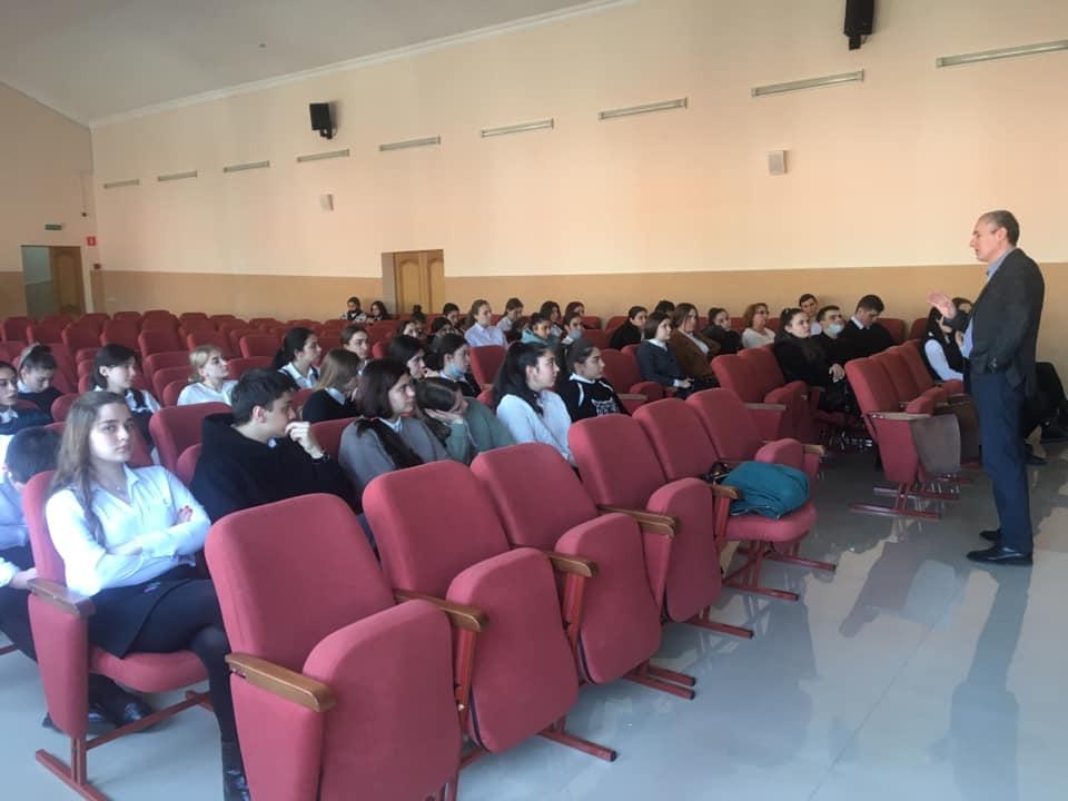 Члены СОРО проводят курс лекций
